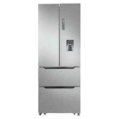 View Details Hisense RF528N4WC1 American Style Fridge Freezer With A+ Energy Rating In Steel • 599.00£
