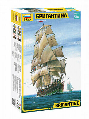AU80.50 • Buy Zvezda 1/100 Brigantine Sailing Ship