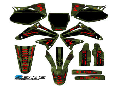 $154.99 • Buy 2002 2003 2004 Crf 450r Graphics Kit Crf450r 450 R Deco Decals Stickers