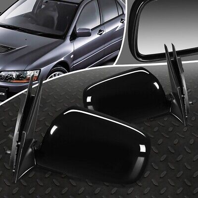 $56.88 • Buy For 02-07 Mitsubishi Lancer Pair Oe Style Powered+heated Side View Door Mirror