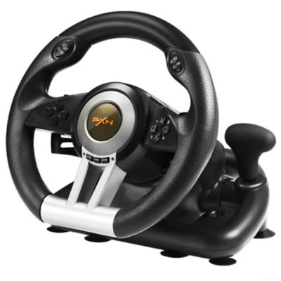 V3 4 In 1 Racing Car Steering Wheel Compatible PC/PS3/4/xbox One/switch Host • 82$