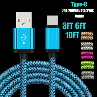 $ CDN3.39 • Buy USB Type-C 3.1 Fast Charging Data Charger Cable For Samsung Galaxy Note 8 9 S9+