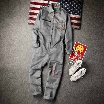 $39.99 • Buy Japanese Mens Workwear Coverall Overall Work Jumpsuit Boilersuit Uniform Pants