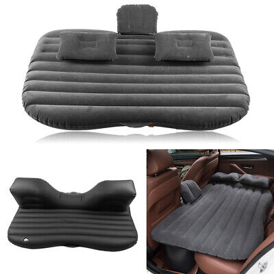 Car Inflatable Bed Back Seat Mattress Airbed For Rest Sleep Travel Camping +Pump • 19.99£