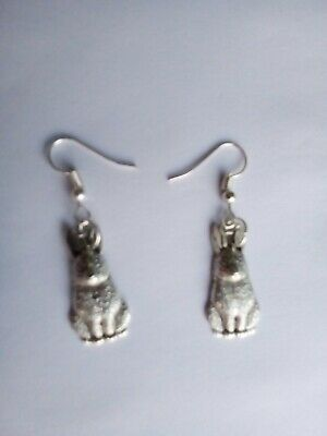 £2.95 • Buy Rabbit Silver Plated Earrings With Gift Bag
