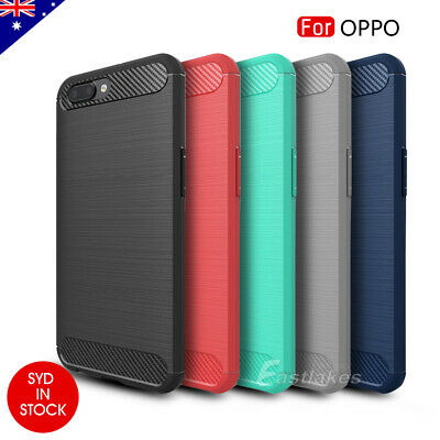 AU9.95 • Buy Soft TPU Carbon Shockproof Case Cover For OPPO R17 Pro A3s AX5 AX5s A73 F5