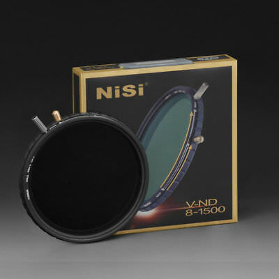 AU161 • Buy Nisi 67mm 72mm 77mm 82mm ND8-1500 Variable ND MC Neutral Density Filter