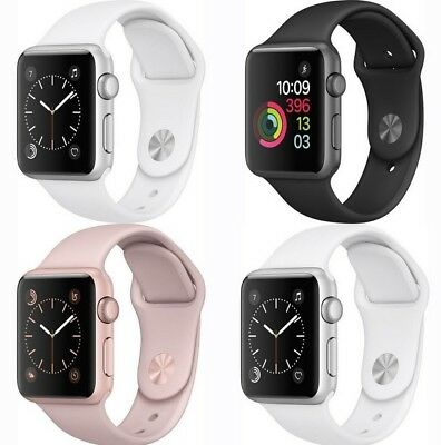 $ CDN170.83 • Buy Apple Watch Series 2 38mm / 42mm Smart Watch Aluminum Case With Sport Band