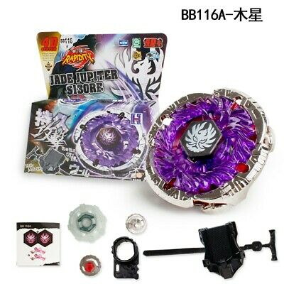 $5.99 • Buy JADE JUPITER Fusion Metal Master 4D Beyblade BB116A With Power Launcher HOT