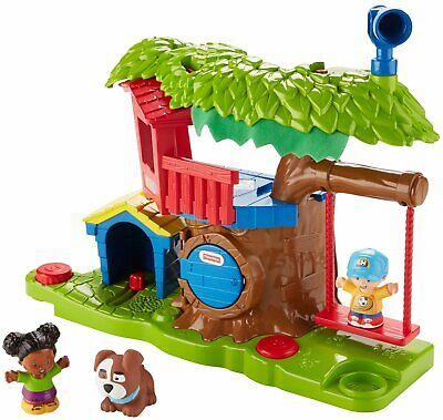 £28.99 • Buy Fisher-Price Little People Swing & Share Treehouse Playset