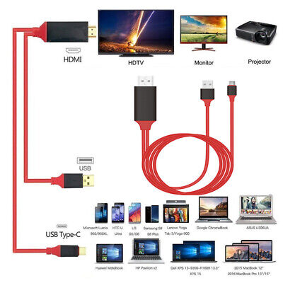 $12.49 • Buy Type-C USB-C To 4K HDMI HDTV TV Cable Adapter For Samsung Galaxy S10 Note 9 Mac