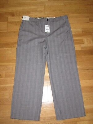Next Signature Wool Blend Slouch Trousers Size 16 Regular Leg 31 Brand New Tags • 18.49£