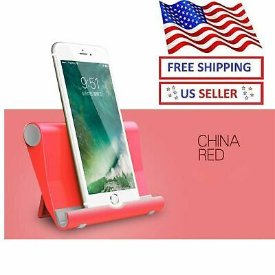 $5.99 • Buy Mobile Cell Phone Stand Desk Holder Stand For Iphone X Samsung Tablet Ipad Pro