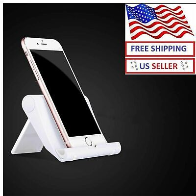 $5.33 • Buy Adjustable Portable Desktop Stand Desk Holder For Tablet/Cell Phone/iPad/iPhone