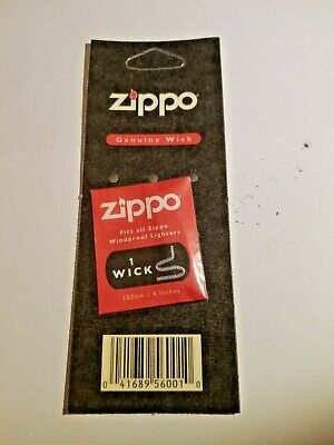 $3.75 • Buy Genuine Zippo Wick For Zippo (and Other) Lighters, NEW, USA SHIPPER