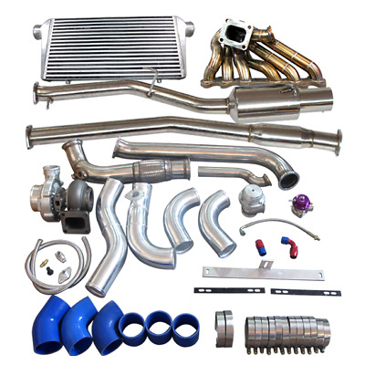 AU3195 • Buy Turbo Manifold Downpipe Catback Intercooler Kit For Cressida MX83 2JZ-GTE 2JZGTE