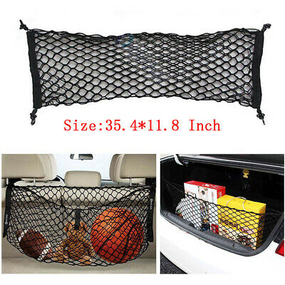 $24.99 • Buy Car SUV Rear Cargo Trunk Boot Floor Net Elastic Mesh Storage Durable Black Parts