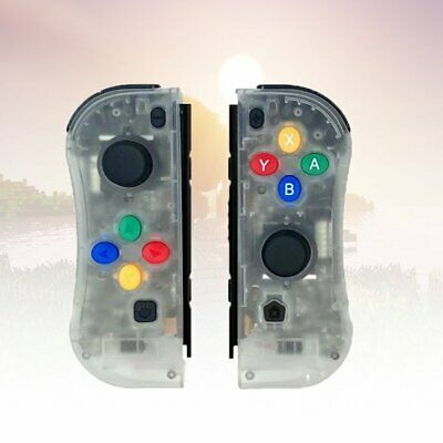 $35.05 • Buy Joy-Con Game Controllers Gamepad Joypad For Nintendo Switch Console Transparent