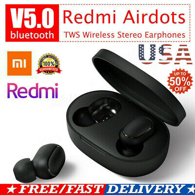 $11.04 • Buy XIAOMI Redmi Original NEW AIRDOTS WIRELESS EARPHONE W/ CHARGER BOX Bluetooth 5.0
