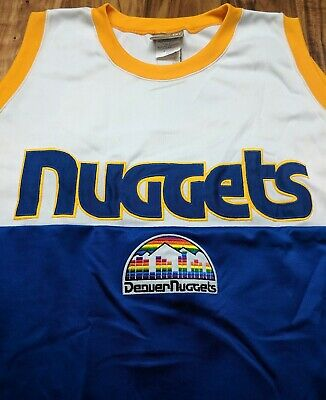 hot sale online f7aed d89e5 denver nuggets throwback jersey