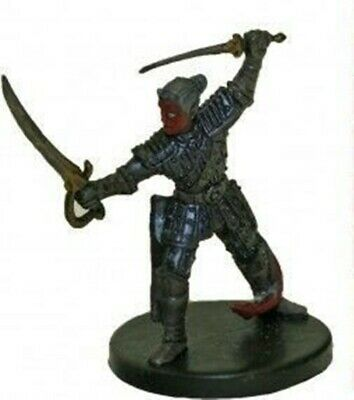 $ CDN9.20 • Buy D&d Miniature Desert Of Desolation Tiefling Rogue #25 With Stat Card