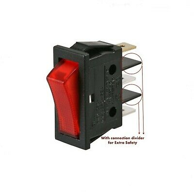 £3.49 • Buy Archway Switch On-Off Red Illuminated Switch 16A For Doner Kebab Machine