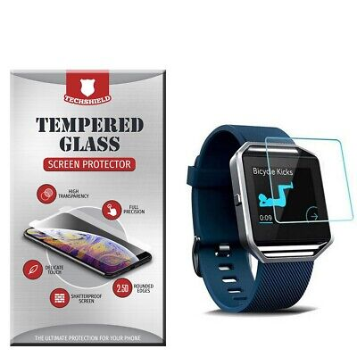 $ CDN2.61 • Buy For Fitbit Blaze Tempered Glass Screen Protector [Bubble Free] Film