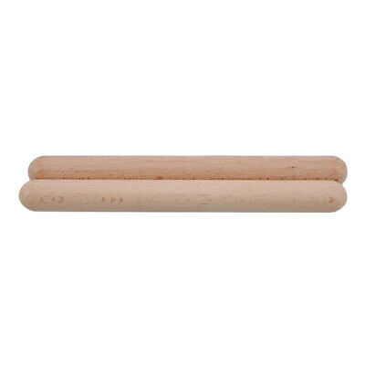 £3.65 • Buy 1Pair Rhythm Sticks Musical Instrument Percussion Wooden Toys Kids Gift LC