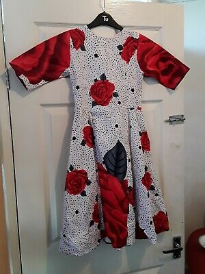 Traditional African Girl Dress 6-7 Years Nearly New • 15£