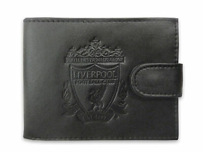 Liverpool FC Official Gift Boxed Leather Wallet Embossed Crest • 12.99£