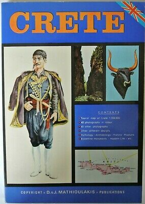 Book. CRETE. Tourist Guide To Crete By Chr. Z. Mathioulakis. 13th Edition. 1981. • 14.99£