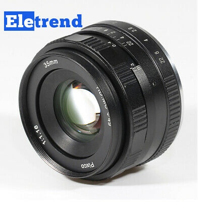 $ CDN73.51 • Buy 35mm F/1.6 Large Aperture Lens For Sony 7 6 A6000 A6300 A6500 A6400 A9II A7R A7S