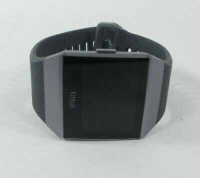 $ CDN131.45 • Buy Fitbit Ionic GPS Smart Watch, Charcoal/Smoke Gray, One Size S & L Bands *Defect*