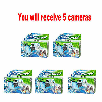 £33.72 • Buy 5x Fuji QuickSnap Waterproof 35mm Fuji Disposable/Single Use Underwater Camera