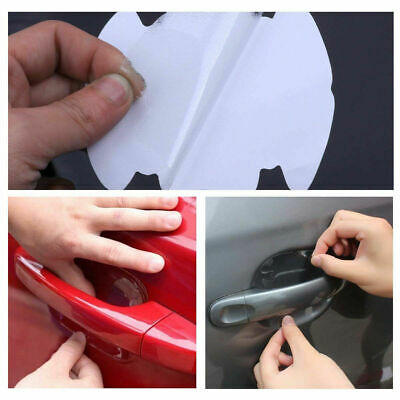 $ CDN1.34 • Buy 4x Invisible Clear Car Door Handle Protector Film Scratch Guard Cover Sticker