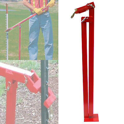 $67.99 • Buy T-post Puller Steel Studded Fence Post Remover Leverage Lifter