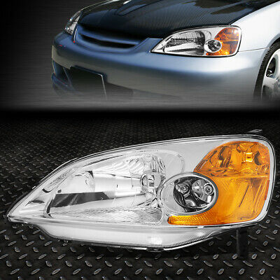$38.98 • Buy For 01-03 Honda Civic Oe Style Front Driving Headlight Headlamp Left Ho2502116