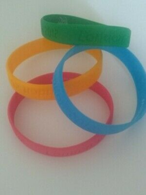 £8 • Buy 4 X London 2012 Olympic Games Official Merchandise Bracelet Band