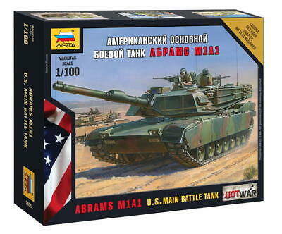 AU15.50 • Buy Zvezda 1/100 US Main Battle Tank Abrams M1A1