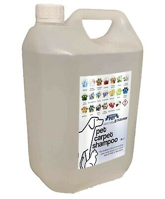 Carpet Cleaning Shampoo Solution Pet Odour Eliminator Fresh Linen Low Foam 5ltr  • 10.45£
