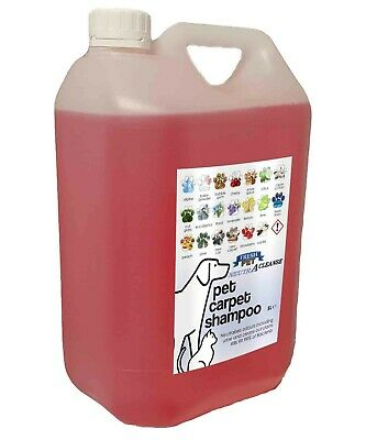 Carpet Cleaning Shampoo Solution Pet Odour Eliminator Cherry Low Foam 5ltr NEUTR • 10.45£