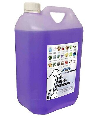 Carpet Cleaning Shampoo Solution Pet Odour Eliminator LAVENDER Foam 5ltr NEUTRA • 10.45£