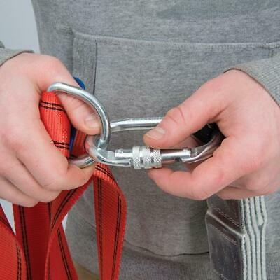 Safety Rated Karabiners  Safety Harnesses Tree Surgeons Scaffolding Climbing • 31.85£