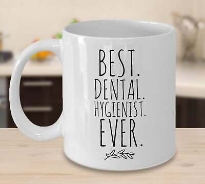 Dental Hygienist Gifts Best Dental Hygienist Ever Mug Gift For Women And Men  • 9.96£