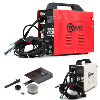MIG 100 Welder Gasless Flux No Gas 120A Portable Welding Machine Kits 230V UK • 99.95£