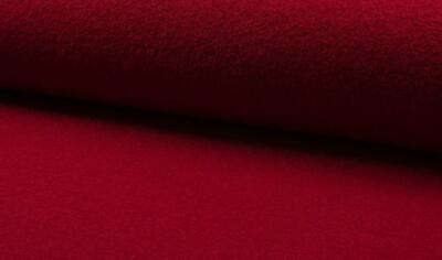 £24.99 • Buy Luxury 100% Boiled Wool Fabric Material – RED