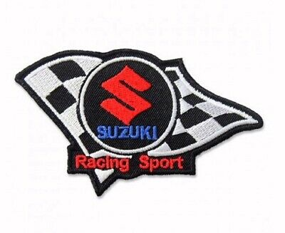 $10.95 • Buy Suzuki Racing Embroidered Iron-On Sew-On Patch - NEW