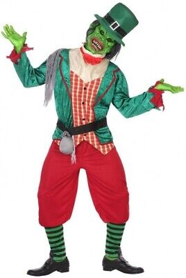 Adult Mens Ladies Zombie Goblin Halloween Horror Fancy Dress Costume Outfit M-XL • 24.99£