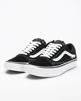AU119.95 • Buy Vans Shoes Old Skool PRO Black White USA Size Skateboard Sneakers