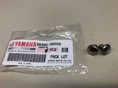 AU11.16 • Buy OEM 60s-90s Yamaha Motorcycles TTR WR YZ 250 450 Bind Screws QTY2 98980-06008